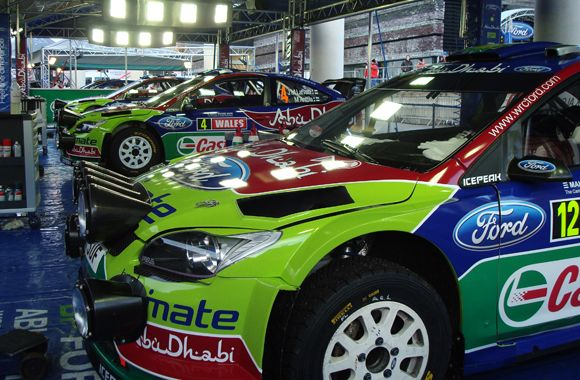 Toplak bei der World Rally Championship