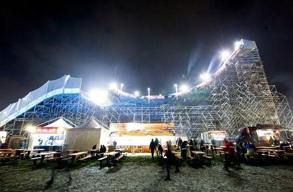 Toplak beim Fridge Festival Vienna