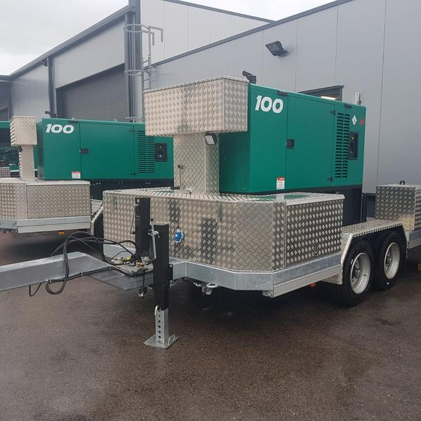 2 Stück 100 kVA