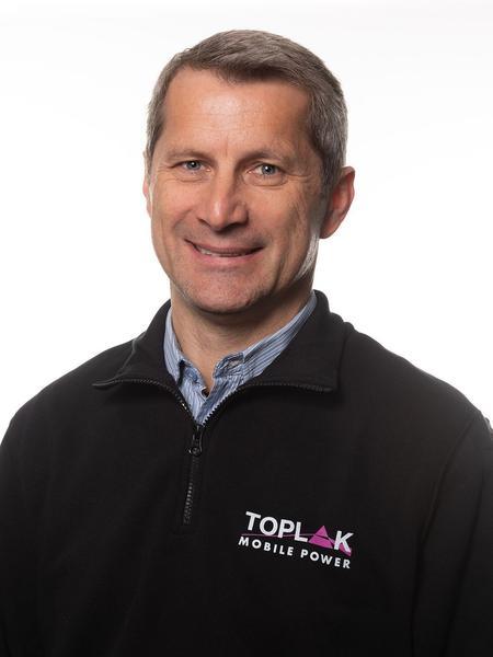 Werner Sperger, Event Abteilungsleiter der Firma Toplak